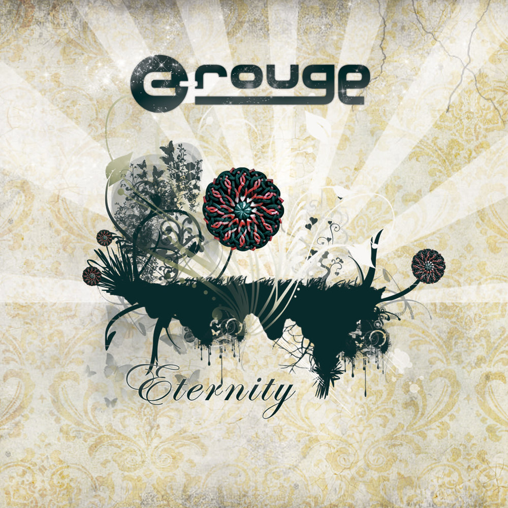 "C-rouge on ""Eternity,"" the winner of ""Best Electronic Album"" at the 2009 Armenian Music Awards (U.S.): ""With the stylized floral motif on its cover, ""Eternity"" consists of 90 percent electronic music, but features more live music and reflects more developed skills when compared to my first album."" (Photo: crouge.com)"