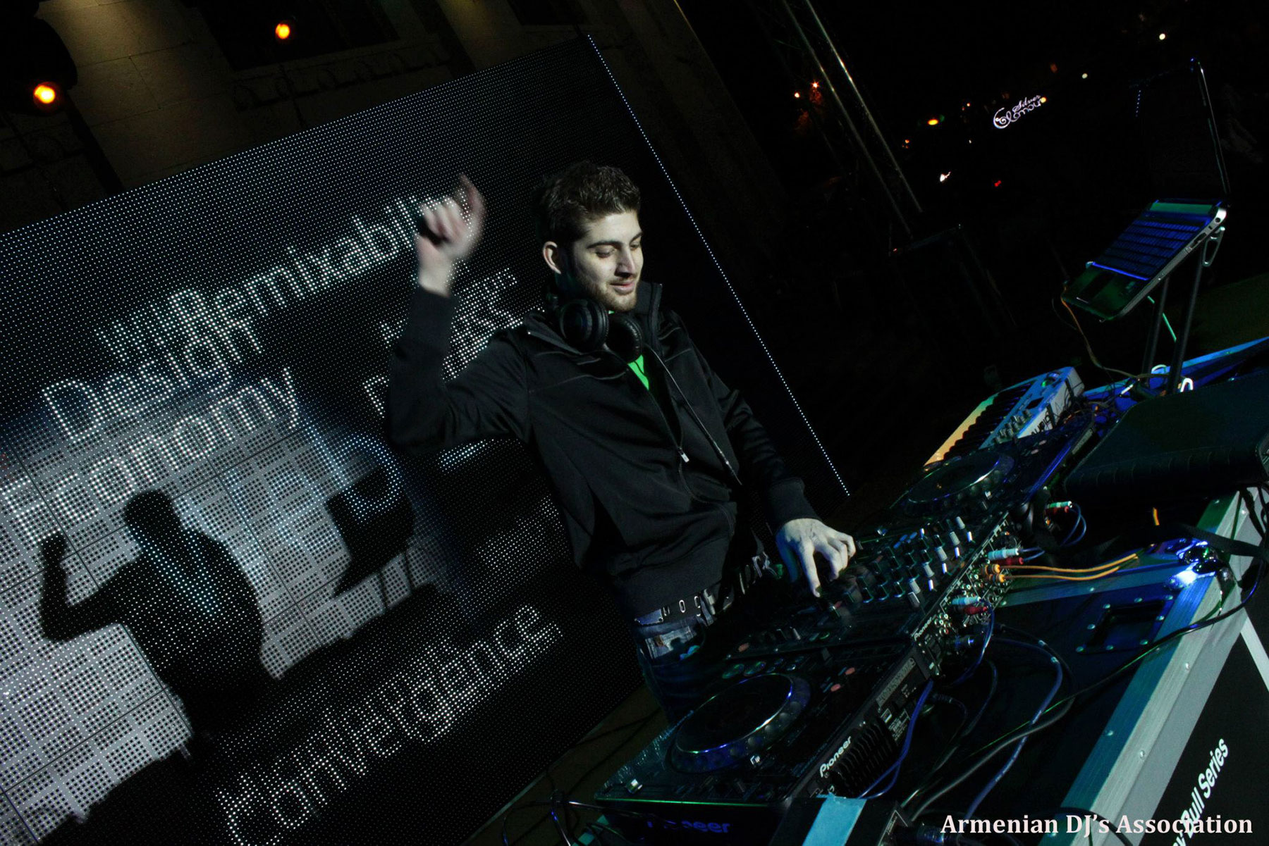 """""""My interests have moved farther away from DJ-ing as a hobby. However, it has helped me learn how to gauge the mood of the audience, analyze their feedback, explore new possibilities, and provide alternate choices."""" (Photo: crouge.com; Armenian DJ's Association)"""
